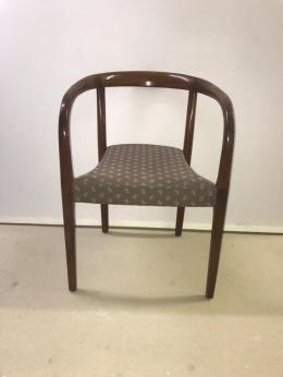 Used Wood Framed Stack chairs