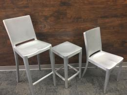 EMECO Aluminum Seating by Phillip Stark-RENT