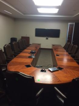 Used Other Office Tables Archive FurnitureFinders - Horseshoe conference table