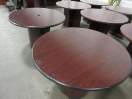 Beau Hon Mahogany Round Conference Table