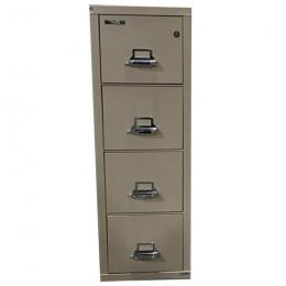 FIRE KING 4 Drawer Lateral File Cabinet
