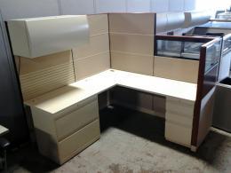 Allsteel 6' x 6' cubicles