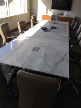 16' Marble Conference Table