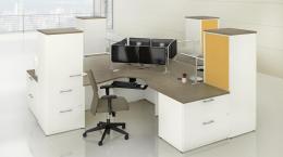 New Groupe Lacasse Concept 400E Series Desks