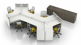 Groupe Lacasse PanGram Series Workstations