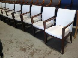 Geiger Wood Reception Chair