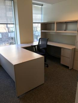 Used Steelcase Metal Desk