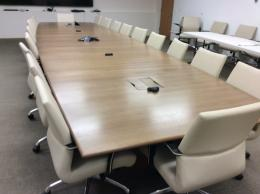 steelcase 25u0027 conference table