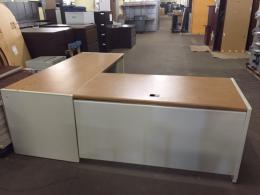 L shape Metal Desk