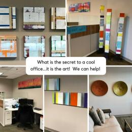 Cool Office starts with Office Art