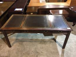 Sligh Walnut Leather top Table Desk