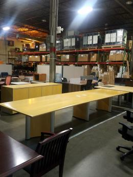 Used 15 Foot  Conference Table