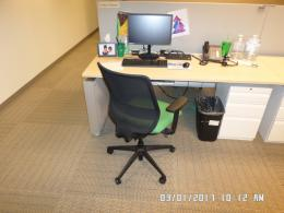 Used Teknion Benching Stations