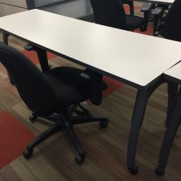 Training tables with casters MINT Condition!!