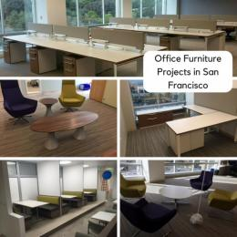 Office Furniture Projects in San Francisco