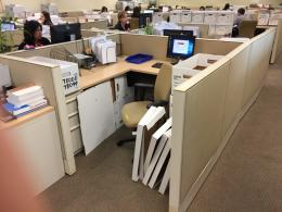 !!! 6x6 Haworth Cubicles with Low Panels !!!