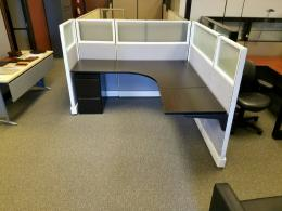 Refurbished Herman Miller A02 Glass Cubicles