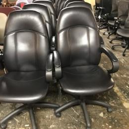 Global Tamiri High Back Leather Chair