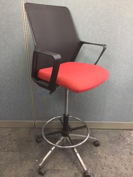 Used Office Chairs Ofs Flexxy Drafting Stool At