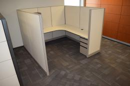 Tall and Private Knoll Morrison 6x6 Cubicles