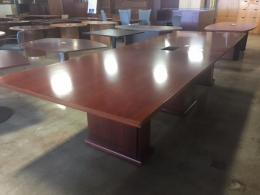 WOOD Conference Table 12 Foot