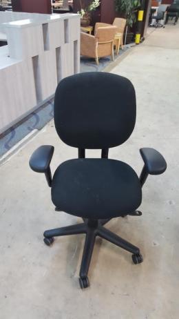 Black ALLSTEEL Trooper Task Chairs