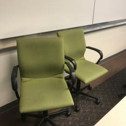 Used Steelcase Chairs for training rooms