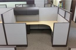 Re manufactured Knoll Morrison 8x9 Cubicles