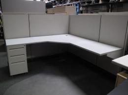 Herman Miller Gray AO2 Used Cubicles Gardena Los Angeles