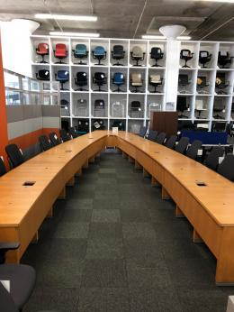 30' Maple Veneer Conference Table