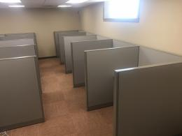 Refurbished Steelcase call center stations