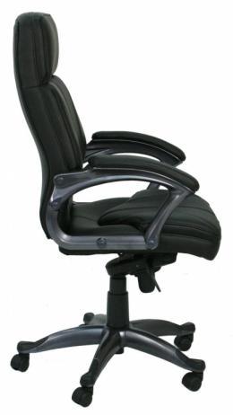 Black Vinyl High Back Conference & Task Chair