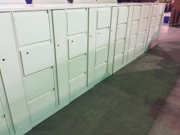 Used Steelcase Storage Towers