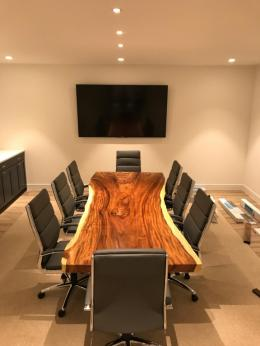 Huge Statement Piece in a Conference Table