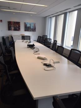 Allsteel 18' Conference Table