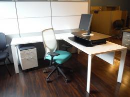 Allsteel Private Office L-Desk