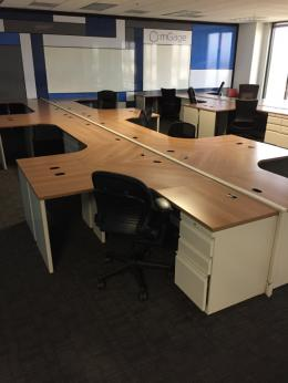 Allsteel Concencys 6x5 Workstations