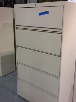 5-Drawer Lateral File