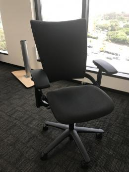 allsteel sum task chairs black
