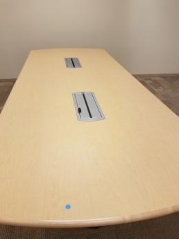 4x8 Maple Laminate Steelcase Conference Table