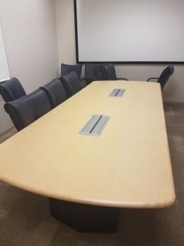 Used steelcase office tables furniturefinders 4x18 steelcase maple conference table keyboard keysfo Gallery