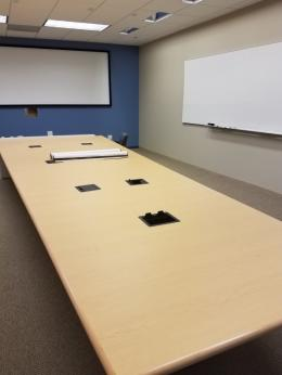 17' Steelcase Trapezoid Conference Table
