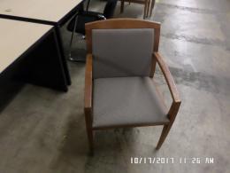 Used Haworth Wood Frame side chairs