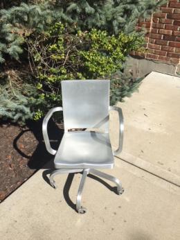 Used Emeco Hudson Aluminum Chairs