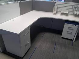 Friant Cubicle 4 Pod Workstation
