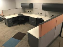 Haworth Premise workstations