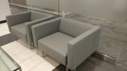 Keilhauer bridge lounge chair