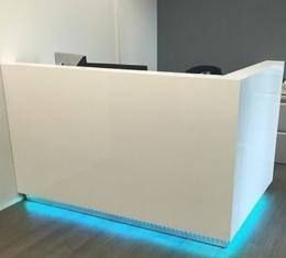 Modern Reception Desks in Fort Lauderdale