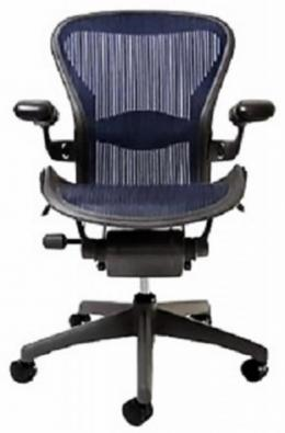 Herman Miller Aeron Chairs   Blue