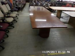 Used 12' Cherry color Conference Table